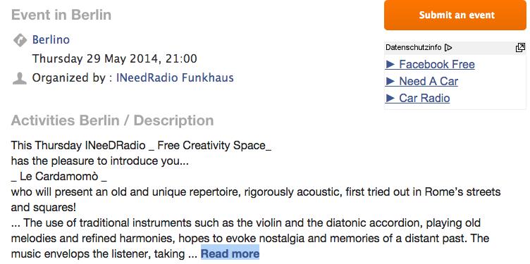 INeeDRadio Berlin