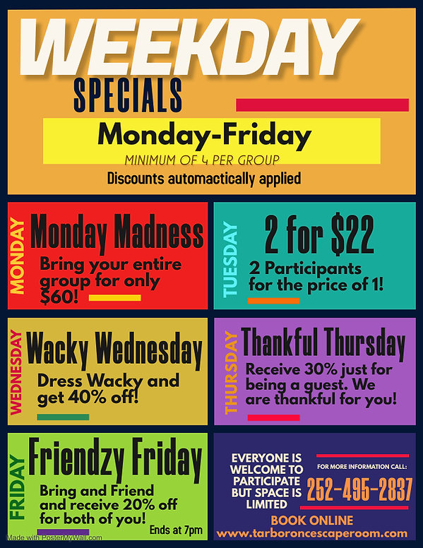 Copy of Spirit Week Flyer - Made with Po