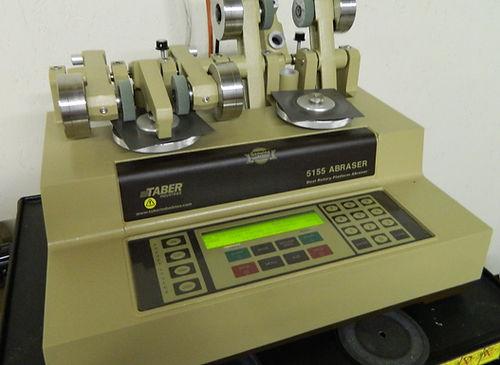 Taber Abrasion Testing Device