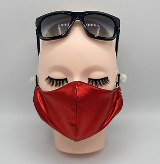 Jingle Bell Red Mask
