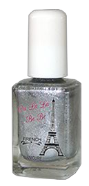 Metallic Silver Tip Polish