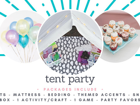 New Service- Tent Parties!