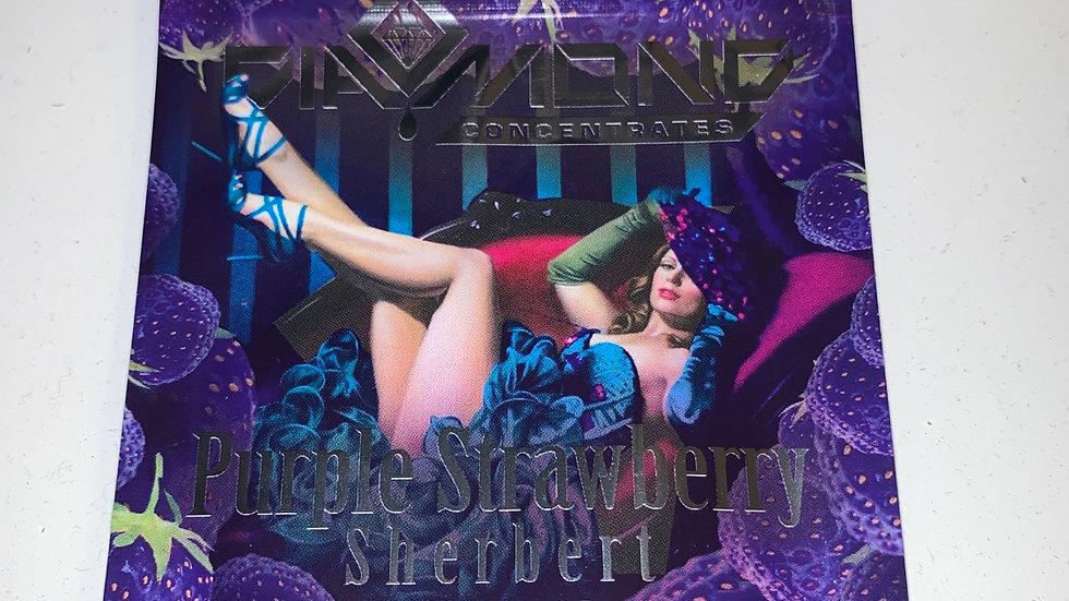 Diamond brand purple strawberry sherbert *1g/$30 or 2g/$50 *mix&match