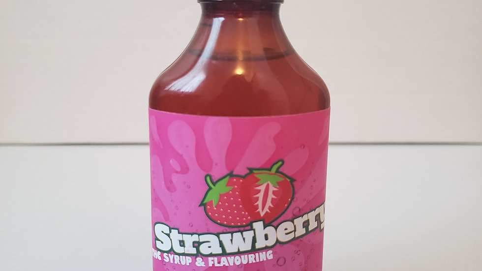 Strawberry drink syrup 1000mg