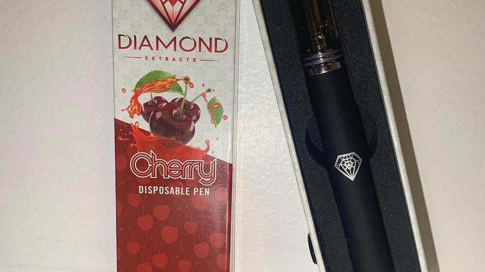 Diamond Brand Cherry Disposable Pen