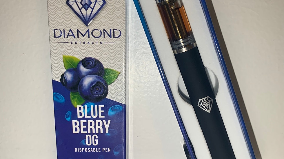 Diamond Brand Blue Berry Og Disposable Pen
