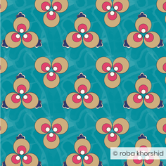 Ottoman Polka Dot - Turquoise