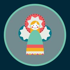 Moulid Doll - Midnight (jumbo)