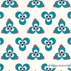 Ottoman Polka Dot - White