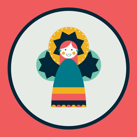 Moulid Doll - Coral (jumbo)