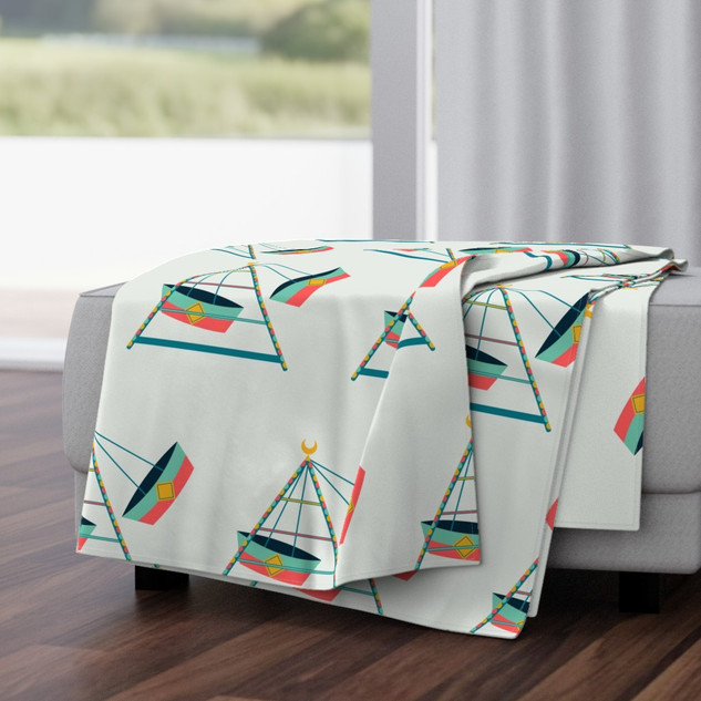 Double-Sided Throw Blankets