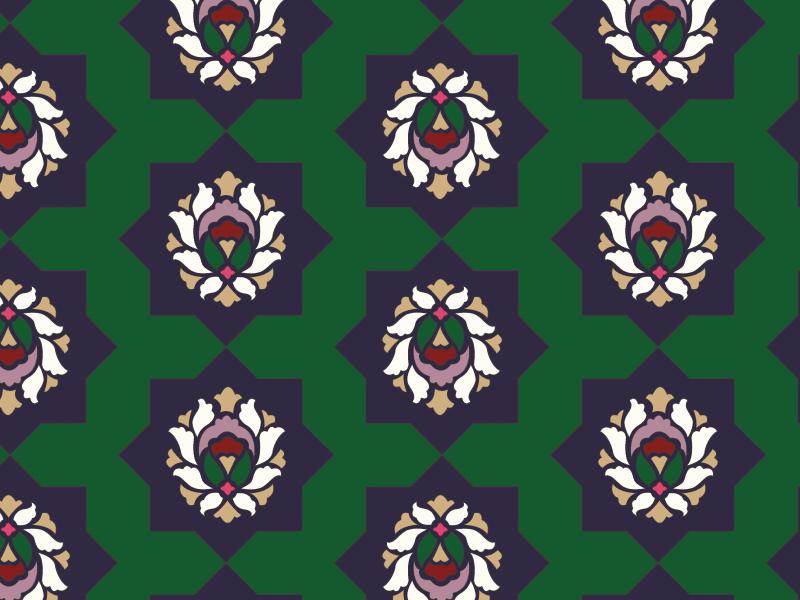 Botanical Maze - Evergreen