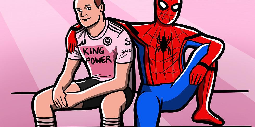 Football kit and superhero spandacular