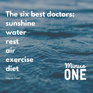 The six best doctors: sunshine, water, rest, air, exercise, diet