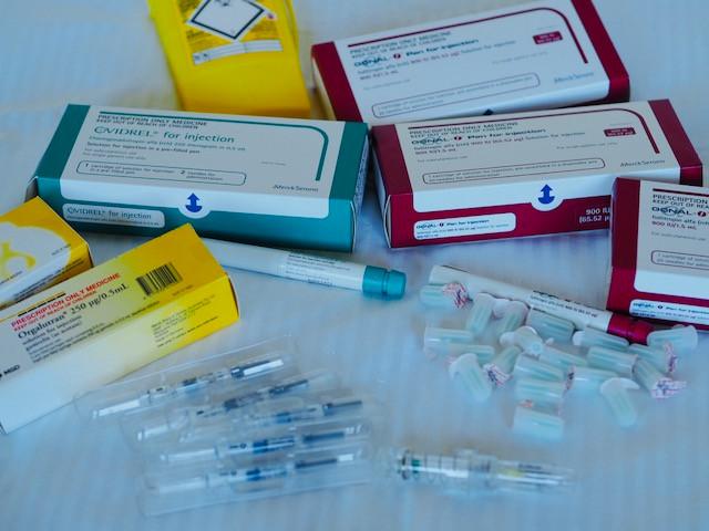 IVF drugs: Elonva, Orgalutran,  Gonal F, Ovidrel