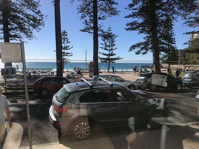 Sunshine, water and beautiful fresh air at Manly Wine