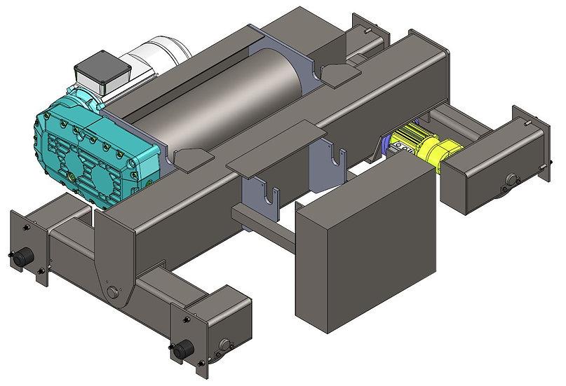 7 Ton - DG Wirerope Hoist