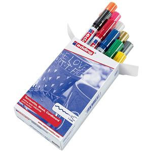Edding Paint Marker Assorted Colours / Pack 10