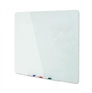 Bi-Office (1500 x 1200mm) Drywipe Board Magnetic Glass White