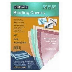 Fellowes (A4) 150 Micron PVC Cover (Clear)