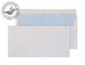 Purely Everyday White Self Seal Wallet DL 110X220mm 100gsm