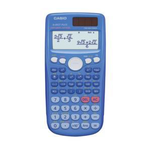 Casio Twin-Powered Scientific Calculator (Blue)