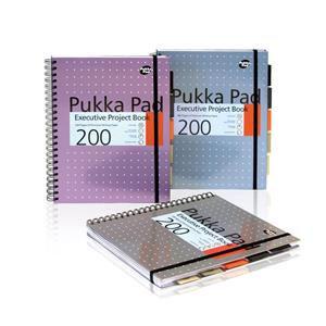 Pukka Metallic A4 Project Book 6970-met