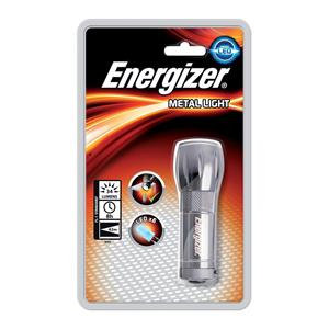 Energizer Value Small Metal Torch with 3 AAA Batteries
