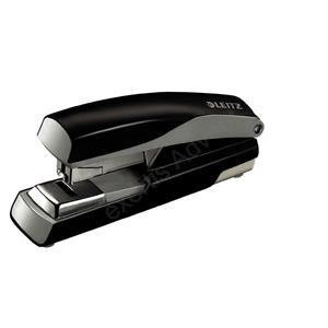Esselte Leitz 5523 Metal Stapler (Metallic Black) 40 Sheets of 80gsm Paper