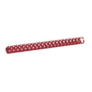 GBC CombBind (A4) 10mm Binding Combs Plastic 21 Ring 65 Sheets (Red)