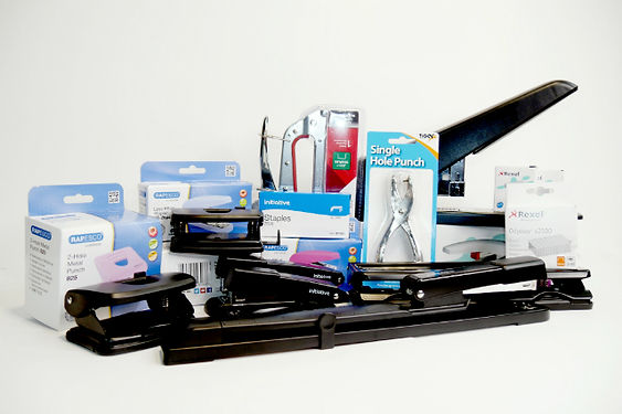 Office Supplies Staplers and Hole Punchers