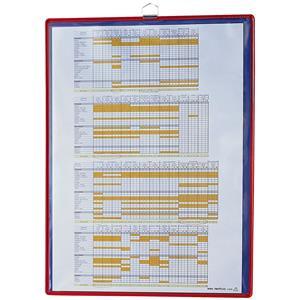 Tarifold (A4) Hanging Frame Panel Pocket (Red)