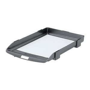 Rexel Agenda 35mm Classic Letter Tray Stackable Charcoal
