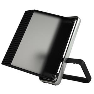 Tarifold VEO Desktop Display Unit (Black) with 10 Display Pockets