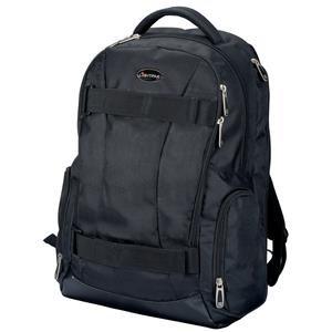 Lightpak HAWK Laptop Backpack Padded Nylon Black for Up to 17 inch Laptops