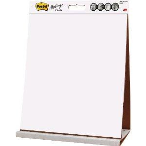 Post-it Table Top Meeting Chart (508 x 584mm) 20 Self-Adhesive Sheets