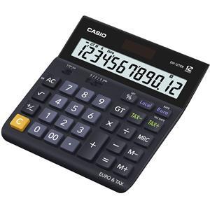 Casio DH-12TER 12-digit Desktop Calculator (Black)