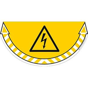 CEP TakeCare Electrical Danger Ground Warning Sign