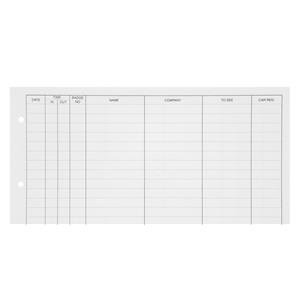 Guildhall (A4) Refill for Loose-leaf Visitors Book 50 Sheets