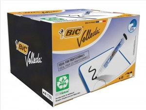 Bic Velleda 1701 Bullet Tip Whiteboard Marker Line Width 1.5mm Black