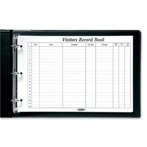 Concord CD14P Refill for Visitors Book 50 Sheets 2000 Entries 230x355mm Ref 8580