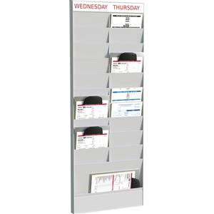 Fast Paper (A4) Document Planner Add-on 20 Compartment Polystyrene Wall Mounted