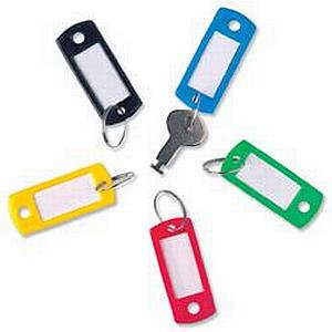 Key Hanger Standard with Fob (Assorted)
