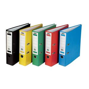 Concord (A4) Classic Lever Arch File Printed Lining Capacity 70mm Assorted