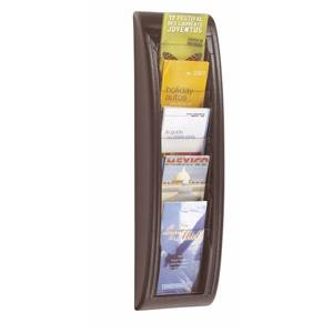 Fast Paper (1/3 A4) Quick Fit Literature Wall Holder (Black)