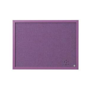 Bi-Office (600mm x 450mm) Framed Noticed Board (Lavender)