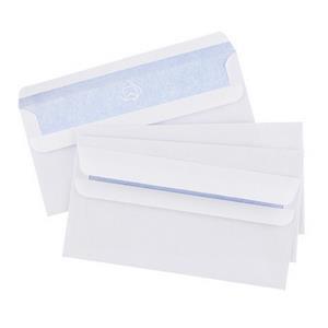 Blake Envelopes Value Self Seal White (DL) Wallet Pocket Envelopes 110mm x 220mm