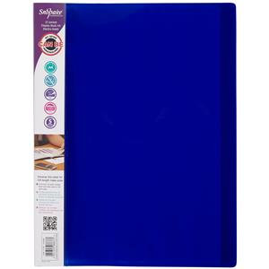 Snopake Electra (A4) 10-Pocket Display Book (Assorted Colours)