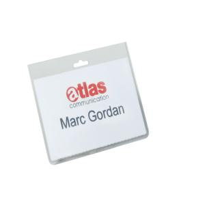 Durable Name Badges Security without Clip