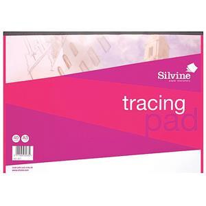 Silvine A4 Tracing Pad 40 Sheets Per Pad